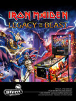 Iron Maiden: The Legacy of the Beast (Pinball) — 2018 at Barcade® in Philadelphia, PA