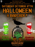 Barcade® Halloween — October 27, 2018 at Barcade in Philadelphia, PA