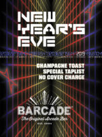 New Year's Eve Party—Monday, December 31st 2018 at Barcade® in Philadelphia, Pennsylvania