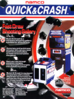 Quick and Crash — 1999 at Barcade® in Philadelphia, PA | arcade game flyer graphic