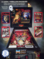 Phantom of the Opera (pinball) — 1990 at Barcade® in Philadelphia, PA | game flyer graphic