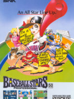 Baseball Stars Professional — 1990 at Barcade® in Philadelphia, PA | arcade game flyer graphic