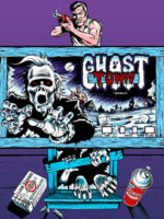 Ghost Town — 1980 at Barcade® in Philadelphia, PA | arcade game flyer graphic