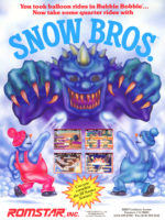 Snow Bros. — 1990 at Barcade® in Philadelphia, PA | game flyer graphic