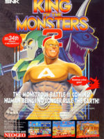 King Of The Monsters 2 — 1992 at Barcade® in Philadelphia, PA | game flyer graphic