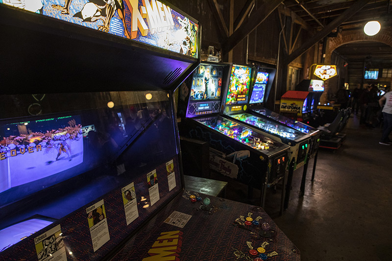Barcade Fishtown, Philadelphia interior photo arcade video games
