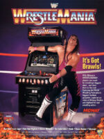 WWF Wrestle Mania — 1995 at Barcade® in Philadelphia, PA | game flyer graphic